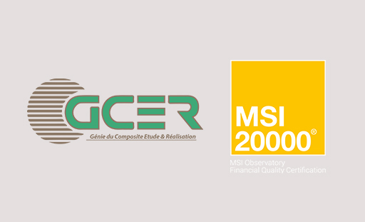 GCER Company has the honor to inform their partners that he has recently obtained the MSI 20000® certification awarded by the COFICERT.CFC firm...